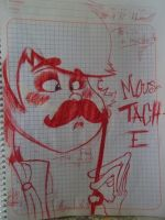 once-ler...fake moustache by chilica