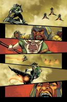 Green Lantern Corps - page by Maiolo