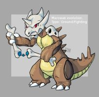 Marowak Evolution by Twarda8