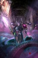 Slaanesh Champion by SlaaneshG