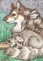 ACEO Trade: Tanana by Agaave