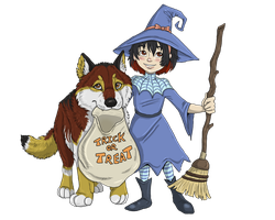 Witchbroom by NatsumeWolf
