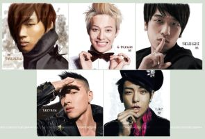 Portrait Marathon - Big Bang by moyan