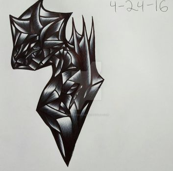 Pen Shading Doodle '16 by RubyPheonix