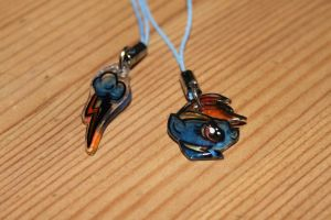 Rainbow Dash charms SALE by Fortitudine-Shelter