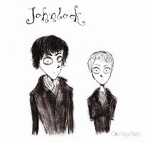 Johnlock by xCthulhuLoverx