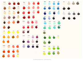 Copic Palette by j-b0x