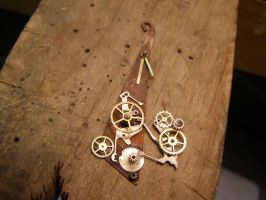 Clockwork Pendant by QuixoticZombie