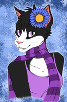 Blossom - Winter Bust - Flats by kcravenyote