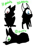 REEKS FOR 10 AND 20 POINTS! CLOSED by Skullz-adopts