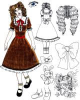 Little Girl: Character Design by DX17