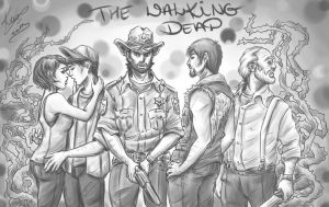 The Walking Dead by sarumanka