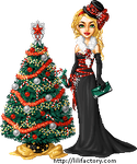 Lili Factory Festive Avatar 1 by honeymil