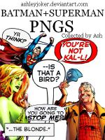 DC Comics PNGs by AshleyJoker