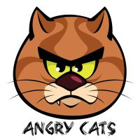 Angry Cats by Elias-Chatzoudis