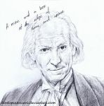 1 - William Hartnell by DontSpeakSilent