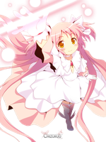 God Form Madoka Render 2 by uke-zaidy2008