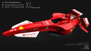 Formula X1 Test Render by megatama