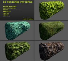Free 3D textures pack 17 by Nobiax