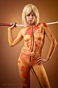 Kill Bill- Leave your limbs by shelle-chii