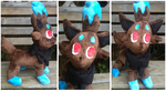 Shiny Zorua Pokemon Time Plush by LovingMissMuse