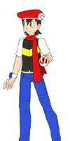 My Pokemon Trainer Will persona (4th gen winter) by MasterGamer101