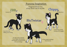 Fursona Inspiration by BluTwistar