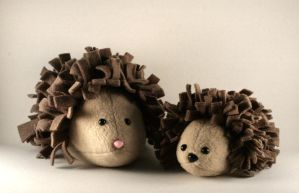 Mini Hedgehog Plushie by Saint-Angel