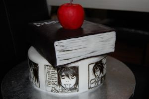 death note cake L lawliet by sydney96
