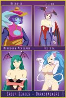 Group Series - Darkstalkers by Sokloeum