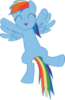 Rainbow Dash wanna hug you by ECHOES111