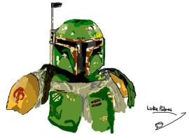 Boba Fett by flamingcog