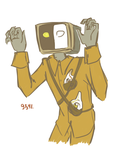079 meets GLaDOS by ND-painter
