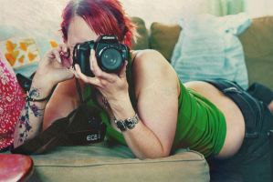 A lady photographer by neasek