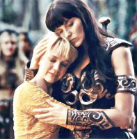 Xena and Gabrielle by Simply-Dreams