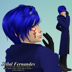Jellal Fernandes - TheSims4Model by ng9