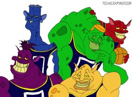 The Monstars by michael-angelo