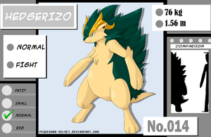 014: HEDGERIZO by PEQUEDARK-VELVET