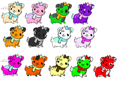 Cheap Puppy Adopts -Open- by Furry-Adopts576