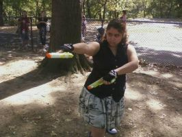Me with Guns by chaoticlatina