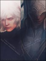 Raiden/Connor by Cyberbublic