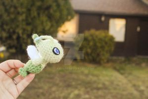 Legendary Celebi Amigurumi Plush by Kaijere