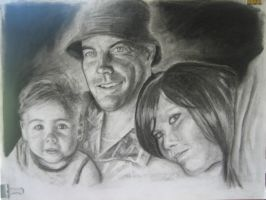 Jake and the kids...finished by KendallightStudios