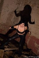 X-23 in the tunnels by N1k0nSh00ter
