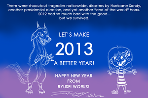 End of 2012 by ryuuseipro