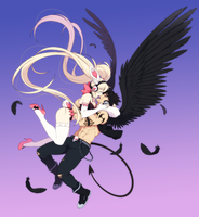 Dude we're totally flying high by ichan-desu