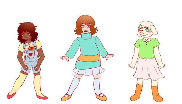 the kids by PercyStrider