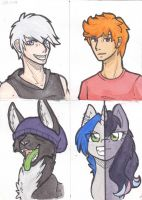 OC's by NothingSpecialx9