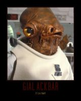 Star Wars Admiral Gial Ackbar by Onikage108