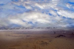 Beach Clouds  Premade Background stock Photo 0079 by annamae22